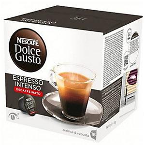 Nescafé Dolce Gusto Café Espresso Intenso Descafeinado Cápsulas de café, 16 dosis, 112 g