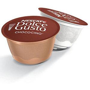 Nescafé Dolce Gusto Chocolate Chococino Cápsulas de chocolate y leche, 8 dosis, 112 g