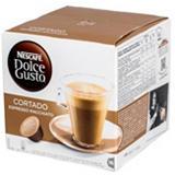 Nescafé Dolce Gusto Cortado Espresso Macchiato Cápsulas de café, 16 dosis, 100,8 g