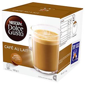 Nescafé Dolce Gusto Koffie met melk, doos van 16 capsules