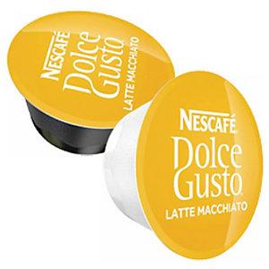 Nescafé Dolce Gusto Latte Macchiato Cápsulas de café y leche, cortado, 8 dosis, 194,4 g