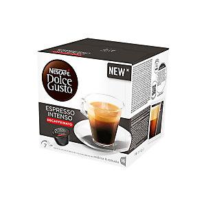 Nescafé Espresso Intenso Decaffeinato, Capsule per caffè, Espresso, 16 dosi, 112 g (confezione 16 pezzi)