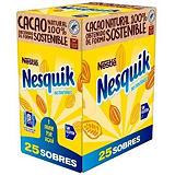 NESQUIK Cacao soluble sin gluten estuche de 25 sobres