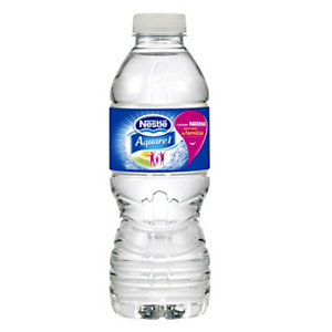 Nestlé Aquarel agua de manantial natural, botella PET, 330 ml