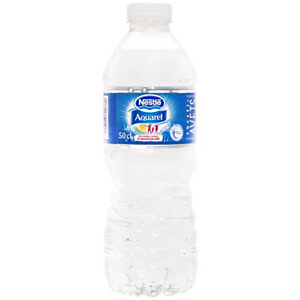 Nestlé Aquarel agua de manantial natural, botella de PET, 500 ml