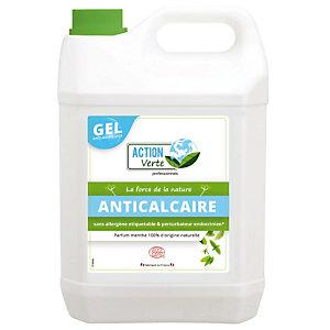 Nettoyant anticalcaire écologique en gel Action Verte menthe 5 L