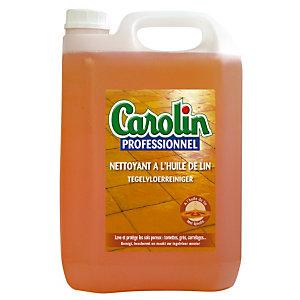 Nettoyant Carolin professionnel huile de lin 5 L