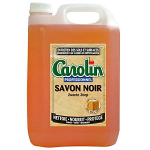 Nettoyant Carolin professionnel savon noir 5 L