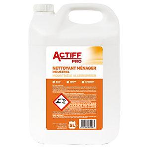 Nettoyant dégraissant ammoniaqué Actiff 5 L
