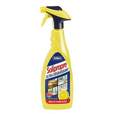 Nettoyant dégraissant citron Solipropre