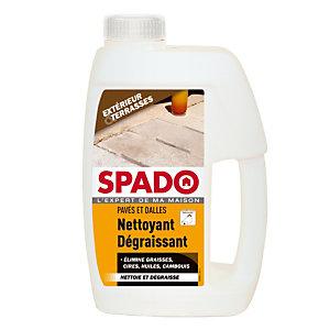 Nettoyant dégraissant pavé et dalles Spado, flacon de 1L