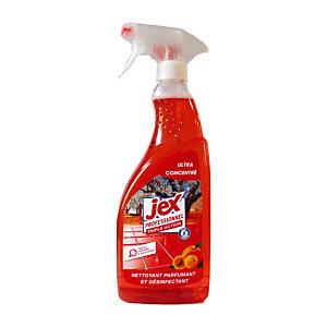 Nettoyant désinfectant parfumant ultra concentré Jex Professionnel Triple Action Vergers de Provence, vaporisateur 750 ml