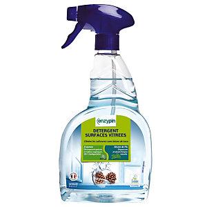Nettoyant écologique pour vitres et surfaces Enzypin, vaporisateur 750 ml.