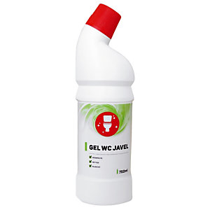 Nettoyant gel WC avec javel 750 ml
