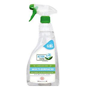 Nettoyant dégraissant multi-surfaces HACCP écologique Action Verte, vaporisateur de 750 ml