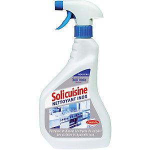Nettoyant inox Solicuisine de Solipro vaporisateur 750 ml