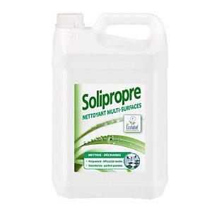 Nettoyant multi-surfaces HACCP Solipropre de Solipro parfum pomme, bidon de 5 L