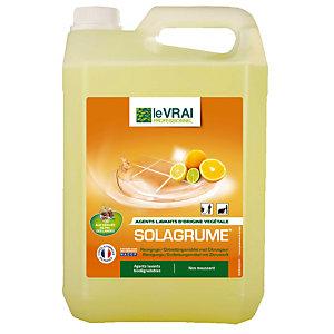 Nettoyant multi-usages HACCP Le Vrai Solagrume 5 L