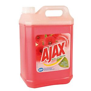Nettoyant parfumé Ajax Fleurs Rouges 5 L