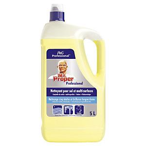 Nettoyant parfumé Mr Proper professional citron 5 L
