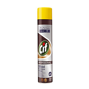 Nettoyant polissant bois Cif Pro Formula, aérosol de 400 ml