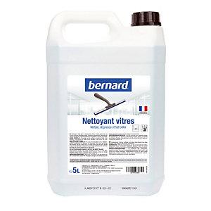 Nettoyant professionnel pour vitres Bernard, bidon de 5 L