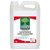 Nettoyant sanitaires anti-calcaire écologique L'ARBRE VERT