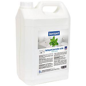 Nettoyant sanitaires journalier acide Bernard 5 L