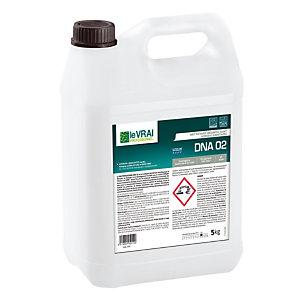 Nettoyant désinfectant HACCP Le Vrai DNA 02, bidon 5 L