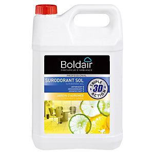 Nettoyant désinfectant surodorant Boldair Jardin d'agrumes 5 L