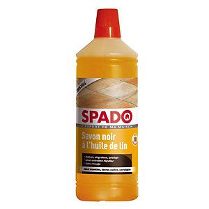 Nettoyant sols Spado Savon noir à l'huile de lin 1 L