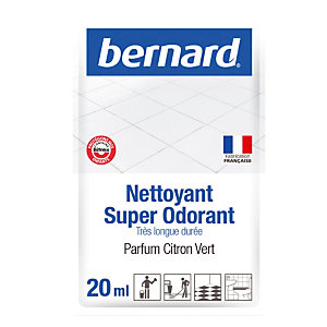 Nettoyant surodorant Bernard Super Odorant citron vert 250 doses de 20 ml