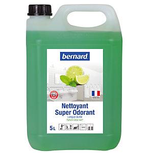 Nettoyant surodorant Bernard Super Odorant citron vert 5 L