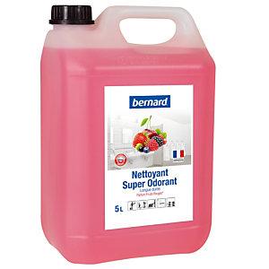 Nettoyant surodorant Bernard Super Odorant fruits rouges 5 L