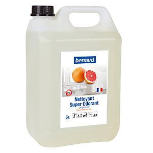 Nettoyant surodorant Bernard Super Odorant pamplemousse 5 L
