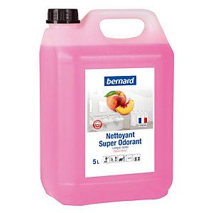 Nettoyant surodorant Bernard Super Odorant pêche 5 L