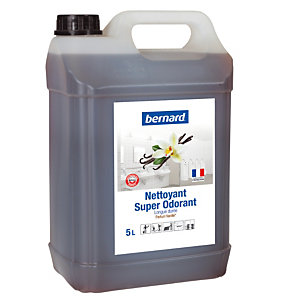 Nettoyant surodorant Bernard Super Odorant vanille 5 L