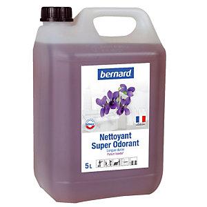 Nettoyant surodorant Bernard Super Odorant violette 5 L