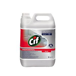 Nettoyant détartrant Cif sanitaires 2 en 1 bidon 5 L
