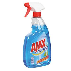 Nettoyant triple action pour vitres et surfaces Ajax, vaporisateur de 750 ml
