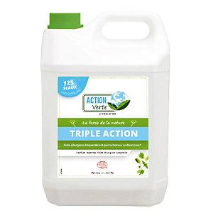 Nettoyant triple actions sols écologique Action Verte menthe 5 L