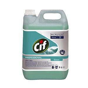 Nettoyant tous usages Cif Oxy-Gel Océan 5 L