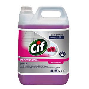 Nettoyant tous usages Cif Oxy-Gel Orchidée 5 L