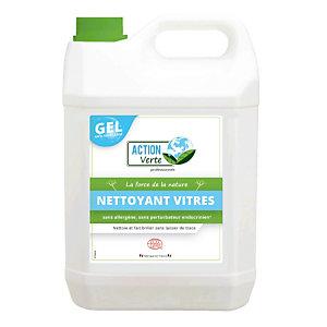 Nettoyant vitres et surfaces écologique en gel Action Verte 5 L
