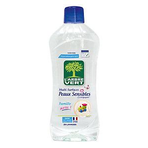 Nettoyants multi-usages écologique L'Arbre Vert peaux sensibles 1 L