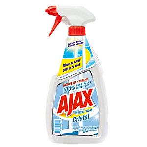 Nettoyants pour vitres et surfaces Ajax cristal, vaporisateur de 750ml