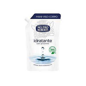 NEUTRO ROBERTS Sapone Liquido Idratante con Glicerina, Ecoricarica 400 ml
