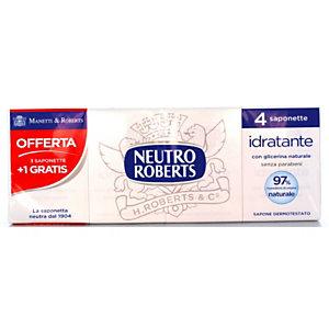 NEUTRO ROBERTS Saponetta Idratante con glicerina naturale (confezione 4 pezzi)
