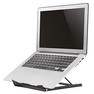 "Newstar Soporte para portátil, Soporte para ordenador portátil, Negro, 25,4 cm (10""), 38,1 cm (15""), 5 kg, 255 mm NSLS075BLACK"