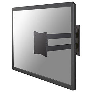 "Newstar Soporte de pared para monitor/TV, 12 kg, 25,4 cm (10""), 68,6 cm (27""), 75 x 75 mm, 100 x 100 mm, Negro FPMA-W820BLACK"
